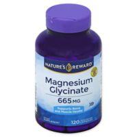 Nature's Reward 120-Count 665 mg Magnesium Glycinate Quick Release Capsules