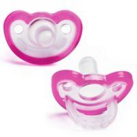 RaZbaby® JollyPop Pacifier In Pink