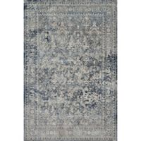 Magnolia Home by Joanna Gaines Everly -Foot -Inch x -Foot x -Inch Area Rug in Slate