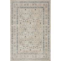 Magnolia Home by Joanna Gaines Everly 5-Foot 3 Round Area Rug in Ivory/Sand