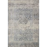 Magnolia Home by Joanna Gaines Everly 2-Foot 7-Inch x 12-Foot Runner in Mist
