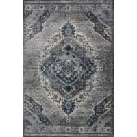 Magnolia Home by Joanna Gaines Everly 2-Foot 7-Inch x 4-Foot Accent Rug in Silver/Grey