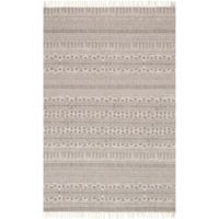 Magnolia Home by Joanna Gaines June 2-Foot 3-Inch x 3-Foot 9-Inch Accent Rug in Beige