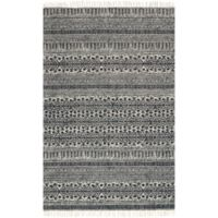 Magnolia Home by Joanna Gaines June 5-Foot x 7-Foot 6-Inch Area Rug in Black