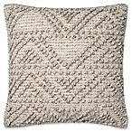 Magnolia Home by Joanna Gaines Eldon 18-Inch Square Throw Pillow in BGrey