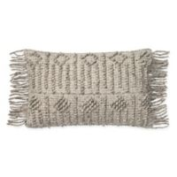 Magnolia Home by Joanna Gaines Everett Oblong Throw Pillow in Grey
