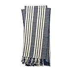 Magnolia Home by Joanna Gaines Lora Throw Blanket in Navy/Ivory