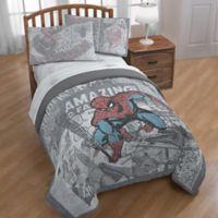 Marvel® Spiderman Comic Group Twin/Full Comforter