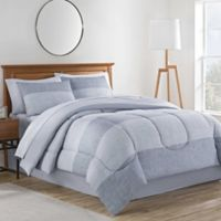Collin 8-Piece Full Comforter Set in Grey