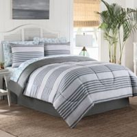 Berkshires 8-Piece Full Comforter Set in Grey