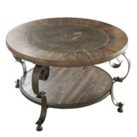 Steve Silver Co. Mulberry Round Cocktail Table in Brown