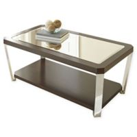 Steve Silver Co. Truman Cocktail Table with Casters in Espresso