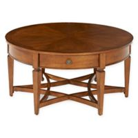 Klaussner® Wentworth Round Cocktail Table in Brown