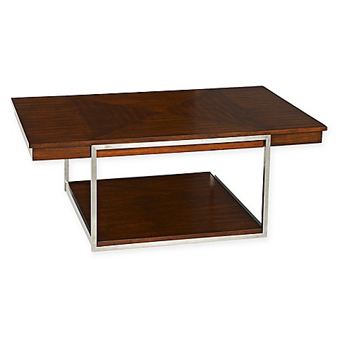 Klaussner Tribeca Cocktail Table In Brown Bed Bath Beyond