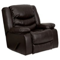 Flash Furniture 42-Inch Bonded Leather Recliner in Brown