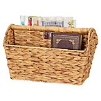 Household Essentials® Wicker Magazine Rack in Natural
