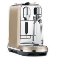 Nespresso® by Breville® Creatista Espresso Maker in Champagne