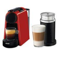 Nespresso® by Delonghi Essenza Mini Espresso Machine with Aeroccino