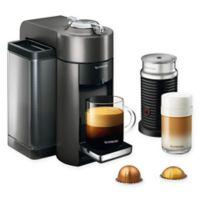 Nespresso® by De'Longhi® Vertuo Coffee/Espresso Machine with Aeroccino in Black