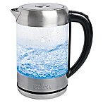 Salton 1.7-Liter Cordless Electric Stainless Steel and Glass Kettle