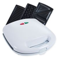 Chef Buddy 3-in-1 Panini Press in White