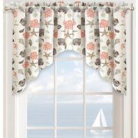 Seashore Window Curtain Swag Valance in Seafoam