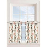 Seashore 24-Inch Window Curtain Tier Pair in Seafoam