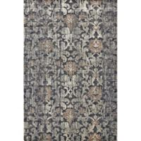 Feizy Chantal Bold Botanicals 2-Foot 2-Inch x 4-Foot Accent Rug in Granite