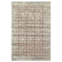 Feizy Chantal Rosette 5-Foot x 7-Foot 6-Inch Area Rug in Smoke