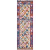 """Nourison Passion 1'10"""" x 6' Machine Woven Runner in Ivory"""