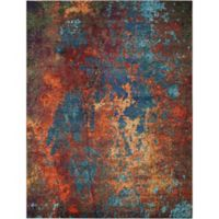 Buy Brown Red Area Rug From Bed Bath Amp Beyond