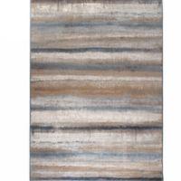 Verona Watercolor 5-Foot 3-Inch x 7-Foot 7-Inch Multicolor Area Rug in Multicolor Stripe