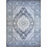 Home Dynamix Oxford 7-Foot 10-Inch x 10-Foot 2-Inch Area Rug in Grey