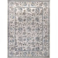 Verona Floral 5-Foot 3-Inch x 7-Foot 7-Inch Area Rug in Ivory/Blue