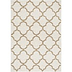 Home Dynamix Synergy Trellis 7-Foot 9-Inch x 10-Foot 2-Inch Area Rug in Beige