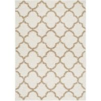 Home Dynamix Synergy Trellis 9-Foot 2-Inch x 12-Foot 5-Inch Area Rug in Beige