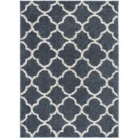 Home Dynamix Synergy Trellis 9-Foot 2-Inch x 12-Foot 5-Inch Area Rug in Blue