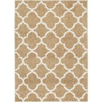 Home Dynamix Synergy Trellis 9-Foot 2-Inch x 12-Foot 5-Inch Area Rug in White