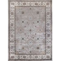 Verona Border 7-Foot 10-Inch x 11-Foot 2-Inch Area Rug in Ivory/Grey