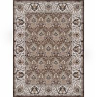 Verona Traditional Border 7-Foot 10-Inch x 11-Foot 2-Inch Area Rug in Brown /Ivory
