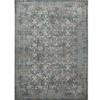 Verona Vintage 7-Foot 10-Inch x 11-Foot 2-Inch Area Rug in Distressed Grey/Blue