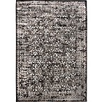 Verona Vintage 9-Foot 2-Inch x 12-Foot 5-Inch Area Rug in Distressed Charcoal