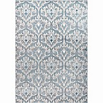 Home Dynamix Oxford 9-Foot 2-Inch x 12-Foot 5-Inch Area Rug in Blue