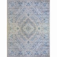 Home Dynamix Oxford Border 5-Foot 2-Inch x 7-Foot 2-Inch Area Rug in Cream