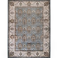 Verona Traditional Border 5-Foot 3-Inch x 7-Foot 7-Inch Area Rug in Blue/Ivory