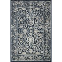Magnolia Home by Joanna Gaines Everly 3-Foot 7-Inch x 5-Foot 7-Inch Accent Rug in Indigo