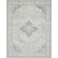 Magnolia Home by Joanna Gaines Tristin Medallion 2-Foot 6-Inch x 7-Foot 6-Inch Runner in Ivory