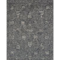 Magnolia Home by Joanna Gaines Tristin 2-Foot 6-Inch x 7-Foot 6-Inch Runner in Charcoal