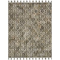 Magnolia Home by Joanna Gaines Teresa 7-Foot 9-Inch x 9-Foot 9-Inch Area Rug in Ivory/Olive