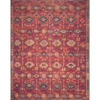 Magnolia Home by Joanna Gaines Lucca 7-Foot 6-Inch x 9-Foot 6-Inch Area Rug in Brick